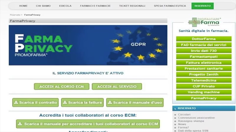 Unical Farmacia Calendario Accademico.Federfarma Reggio Calabria Associazione Dei Titolari Di